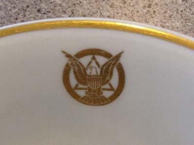 (bowl) U.S. Coast u0026 Geodetic Survey c.1930u0027s. This is a scarce original early china dinnerware piece from the United States Coast u0026 Geodetic Survey ... & Dinnerware